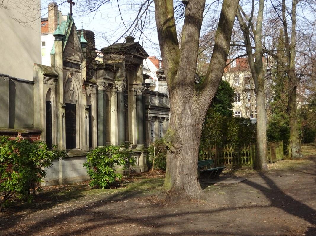 Weddingspaziergang, Friedhof Wollankstraße, Foto von Susanne Haun (c) VG Bild-Kunst, Bonn 2021