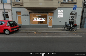 Virtuelle Ausstellung Crossart Susanne Haun (c) Bildschirmausdruck