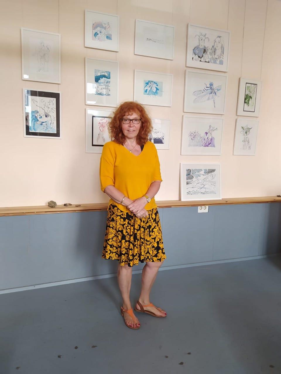 Impressionen von der Ausstellungseröffnung Galerie Blickwinkel Schwerin (c) Foto Nina Alicke Schuchardt