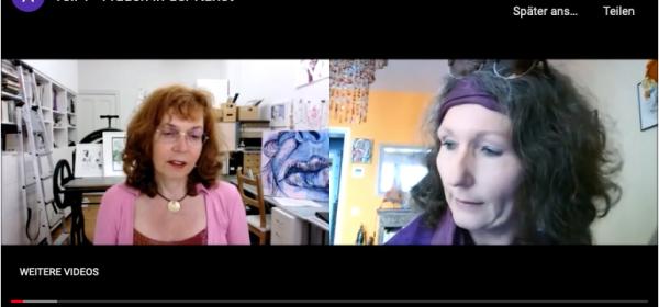 Frauen in der Kunst - Gespräch mit Angela Bungarz und Susanne Haun
