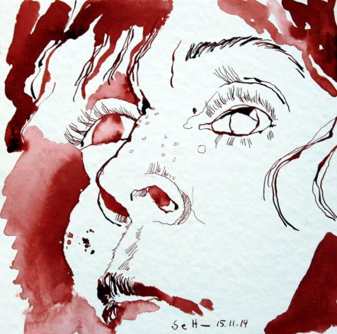 Ich - 2 (c) Zeichnung von Susanne Haun