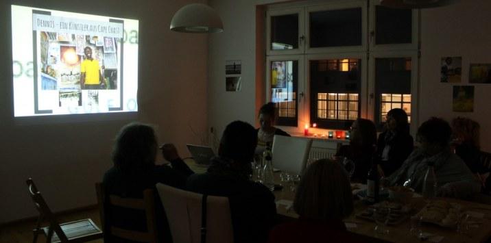 KunstSalon am Dienstag bei Susanne Haun - Gast Joyce Ann Syhre (c) Foto von Susanne Haun
