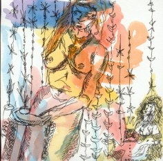 Emotionen in Farbe im CD Cover Format (c) Zeichnung von Susanne Haun