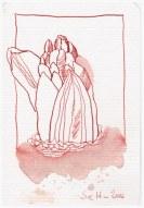 Hyazinthe - 15 x 10 cm (c) Zeichnung von Susanne Haun