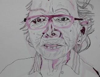Mama (c) Zeichnung von Susanne Haun