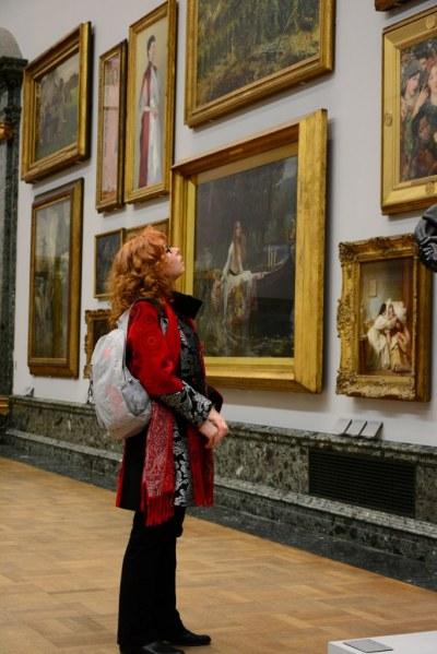 In der London Tate Gallery (c) Foto von M.Fanke