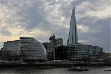 City Hall und The Shard London (c) Foto von Susanne Haun
