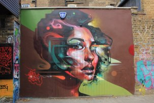 London Whitechapel - Graffiti (c) Foto von Susanne Haun