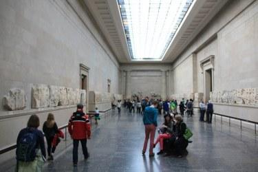The Nereid Monument im British Museum (c) Foto von Susanne Haun