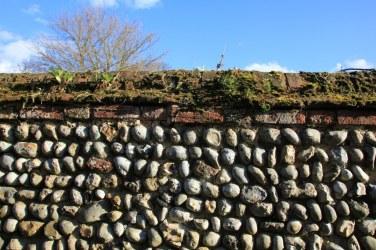 Flintstone Wände in Cley next the sea (c) Foto von M.Fanke