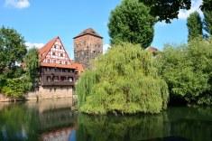 Nürnberg am Henkersteg (c) Foto von M.Fanke