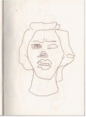5 Aus meinem Skizzenbuch - im Kolbe Museum (c) Zeichnung von Susanne Haun