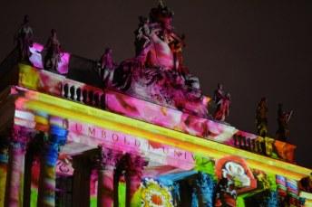 Juristische Fakultät Humboldt Universität - Taschenpalais - Festival of Lights (c) Foto von M. Fanke