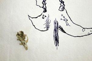 4 Abstrakte Naturform (c) Zeichnung von Susanne Haun