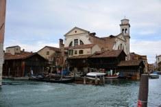Gondelwerft Venedig (c) Foto von M.Fanke