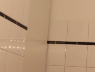 Selbst im Badezimmerspiegel (c) Foto von Susanne Haun