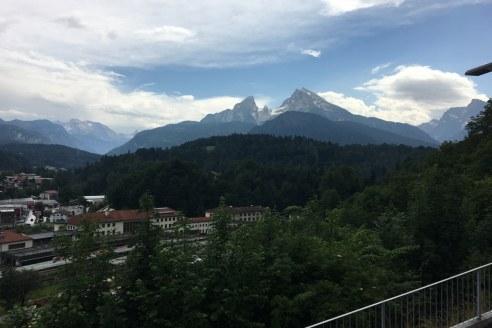 Und wieder der Watzmann im Berchtesgadener Land (c) Foto von Susanne Haun