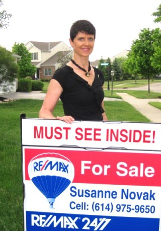 Susanne Novak, Broker/Owner RE/MAX 24/7 Dublin Ohio