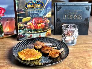 fantasy basel 2019 workshop kochshow game of thrones kochbuch maispuffer wow world of warcraft kochbuch dirges abgefahrene chimaerokkoteletts