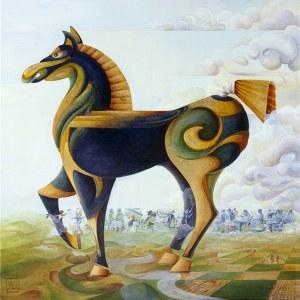 the trojan horse square