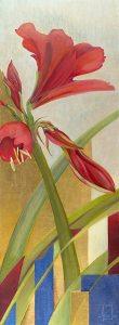 June Day (Red Amaryllis)