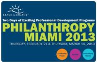 Philanthropy Miami 2013