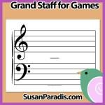 Grand Staff For Musical Battleship