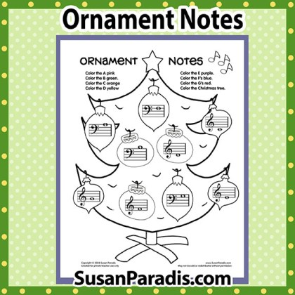 Ornament Notes