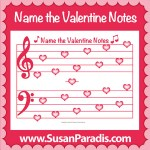 Name the Valentine Notes