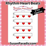 Rhythm Heart Beats in 3/4