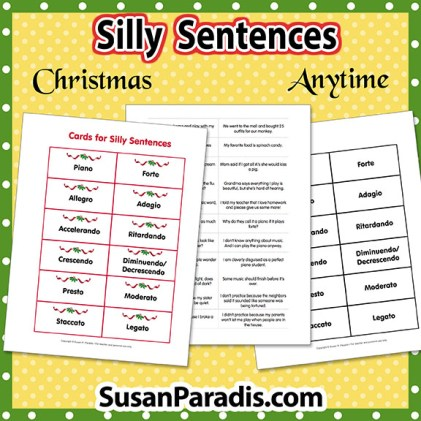Silly Sentences Vocabulary Game
