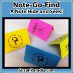 Note Hide and Seek Game