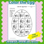 Color the Egg Puzzle
