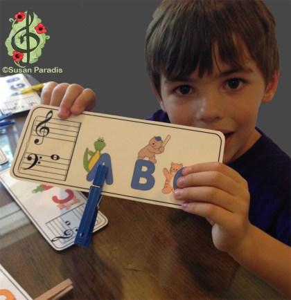 Alphabet Clothpin Matchup