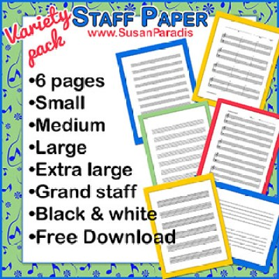 Staff Paper Variety Pack