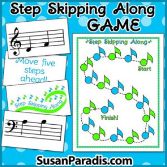 Step and Skip Music Game