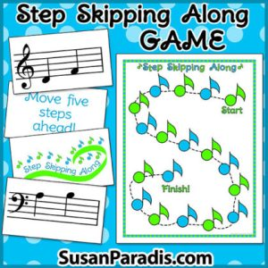 Step and Skip Game