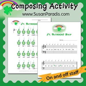 St Patrick's Day Composing