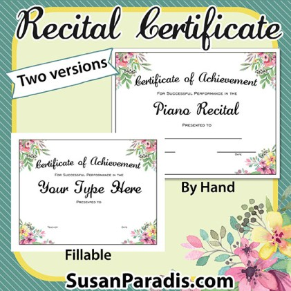 Flowers certificate ppgresize421421 piano recital certificate flowers recital certificate susan paradis piano teaching yadclub Choice Image