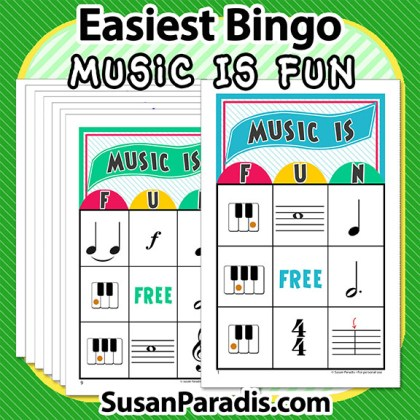 A Music Bingo Game for Begnners