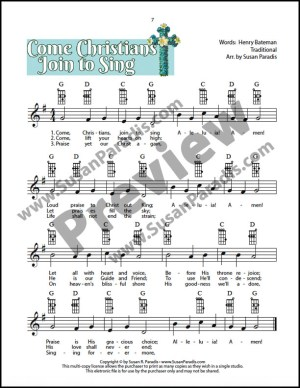 Come Christians Join to Sing Preview