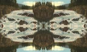 Firehold Cascade Yellowstone Park WY