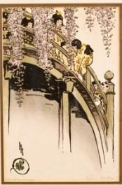 Hyde   Moon Bridge at Kameido