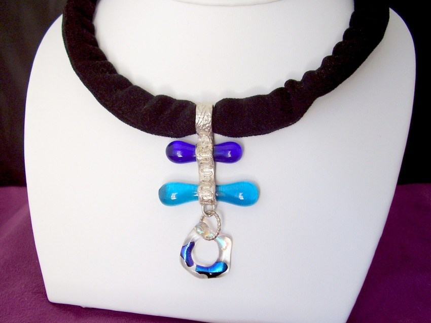 Purple Cloud Studio: Win a Fused Glass Necklace