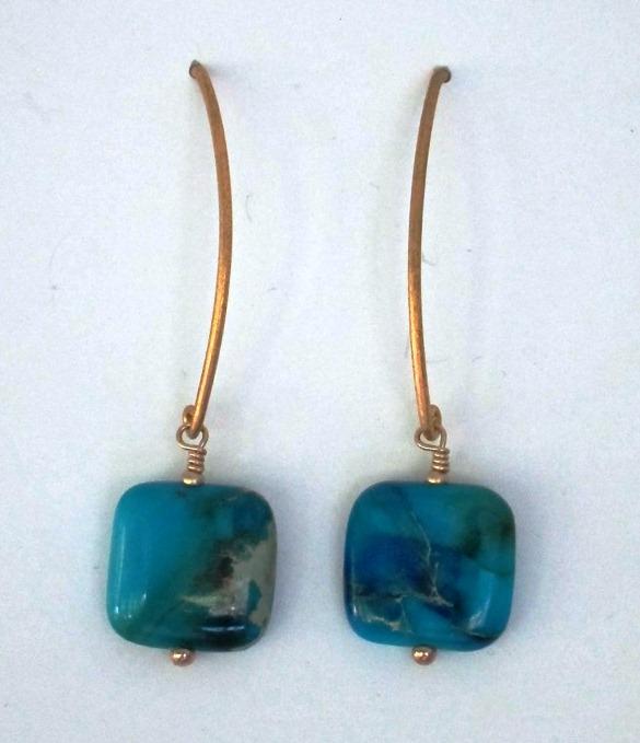 SKM Artworks jasper earrings giveaway