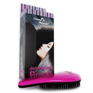 Crave Naturals Detangling Brush. Detangling Hairbrush: Tame Thick, Long or Curly Hair