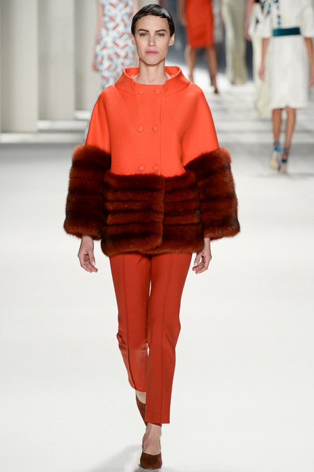 ORANGE, Carolina Herrera Fall 2014 RTW