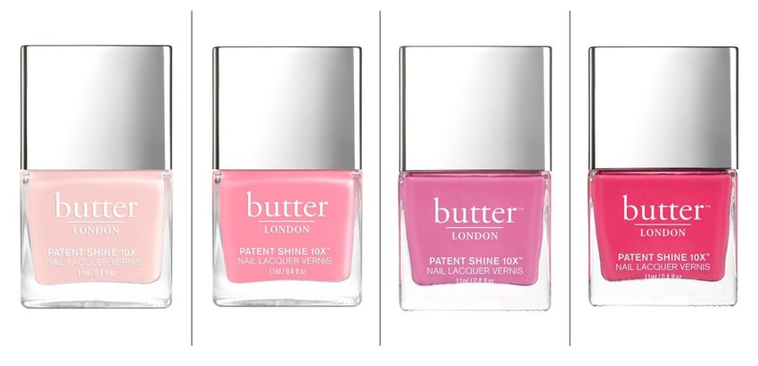 Pink nail laquer from BUTTER London is a sure sign of spring!