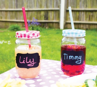 Reusable Chalkboard Labels Add Rustic Charm