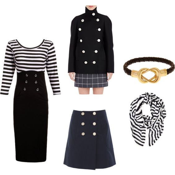 Sailor look for fall? Yes, please!